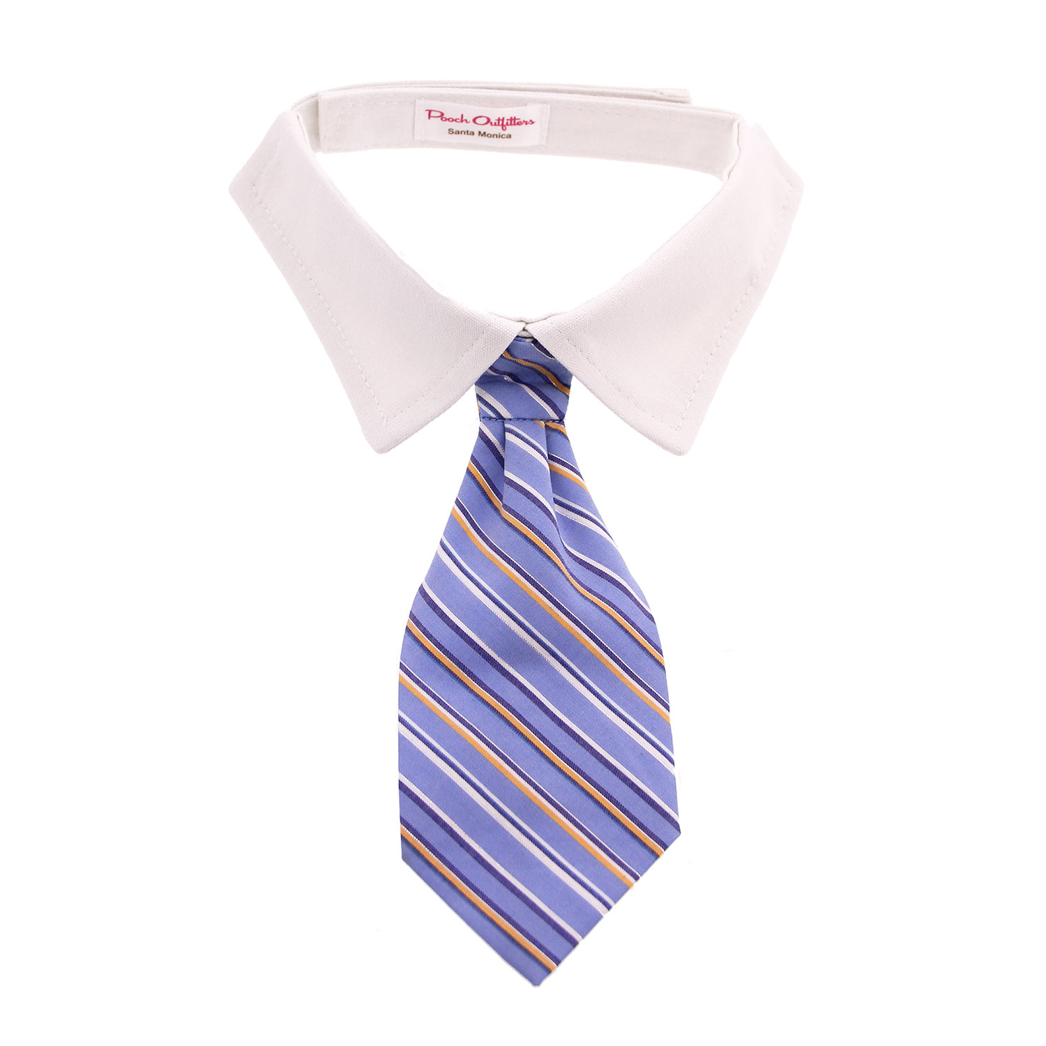 kyle shirt collar and tie blue striped baxterboo