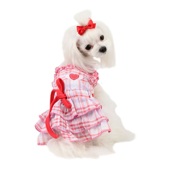 Kyria Dog Dress by Pinkaholic - Pink