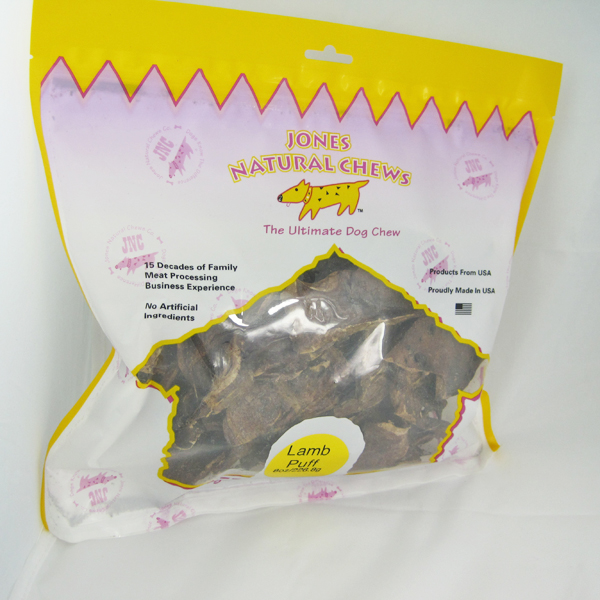 Lamb Puffs Dog Treat by Jones Gourmet