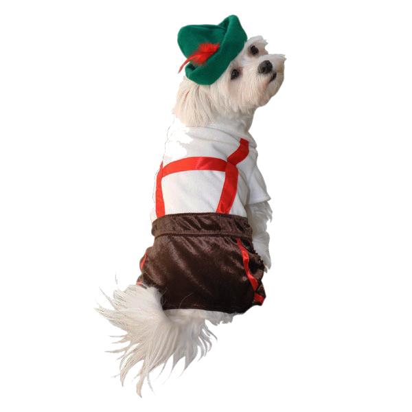 Lederhosen Halloween Dog Costume
