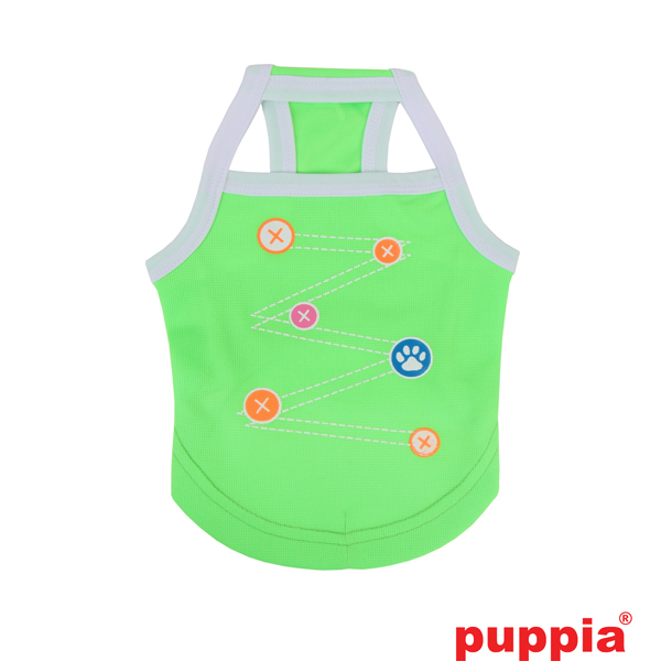 Liaison Dog Tank Top by Puppia - Green