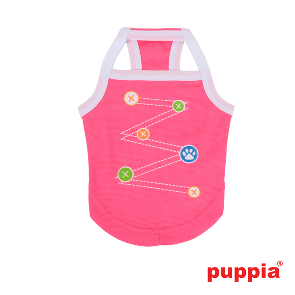 Liaison Dog Tank Top by Puppia - Pink