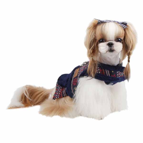 Little Snow Flirt Dog Harness by Pinkaholic - Navy