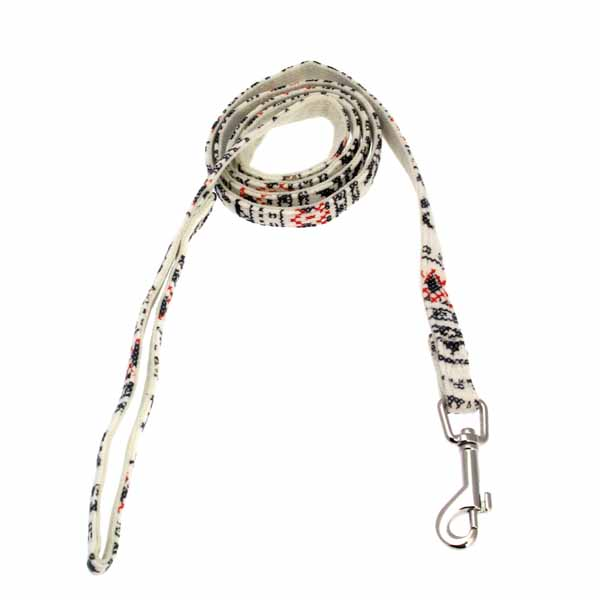 Little Snow Flirt Dog Leash by Pinkaholic - Ivory