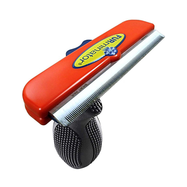 Long Hair FURminator for Giant Dogs - Red