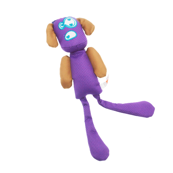 Longshots Ballistic Moondoggie Dog Toy - Purple