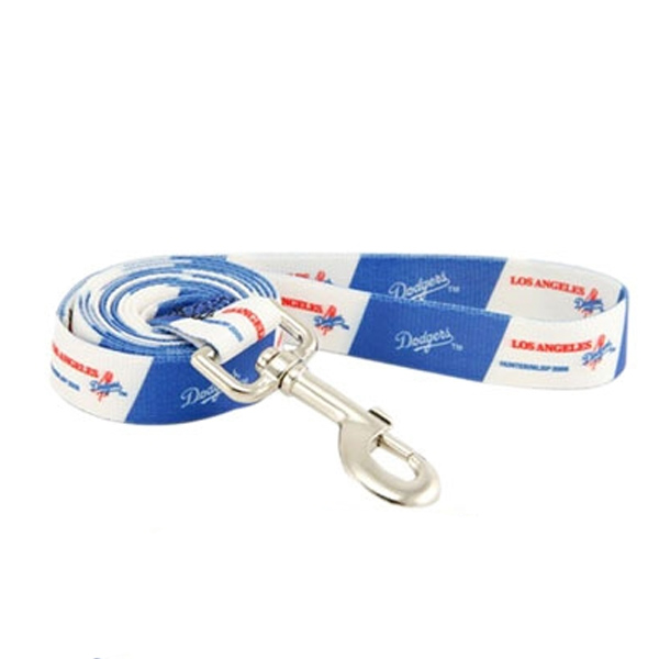 Los Angeles Dodgers Baseball Printed Dog Leash