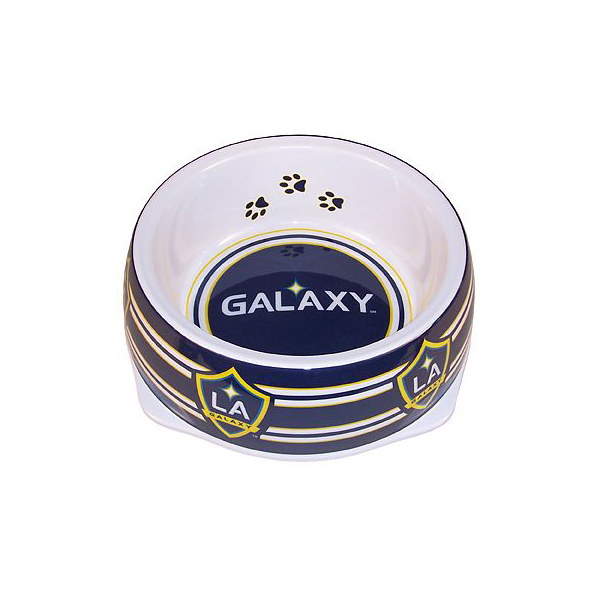 Los Angeles Galaxy Plastic Dog Bowl
