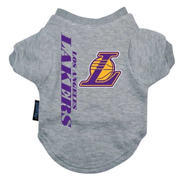 Los Angeles Lakers Dog T-Shirt