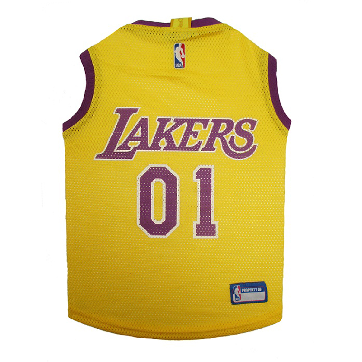 Nba Basketball Los Angeles Lakers: Los Angeles Lakers NBA Dog Jersey