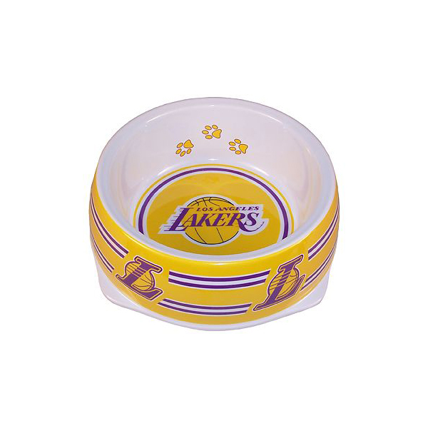 Los Angeles Lakers Plastic Dog Bowl
