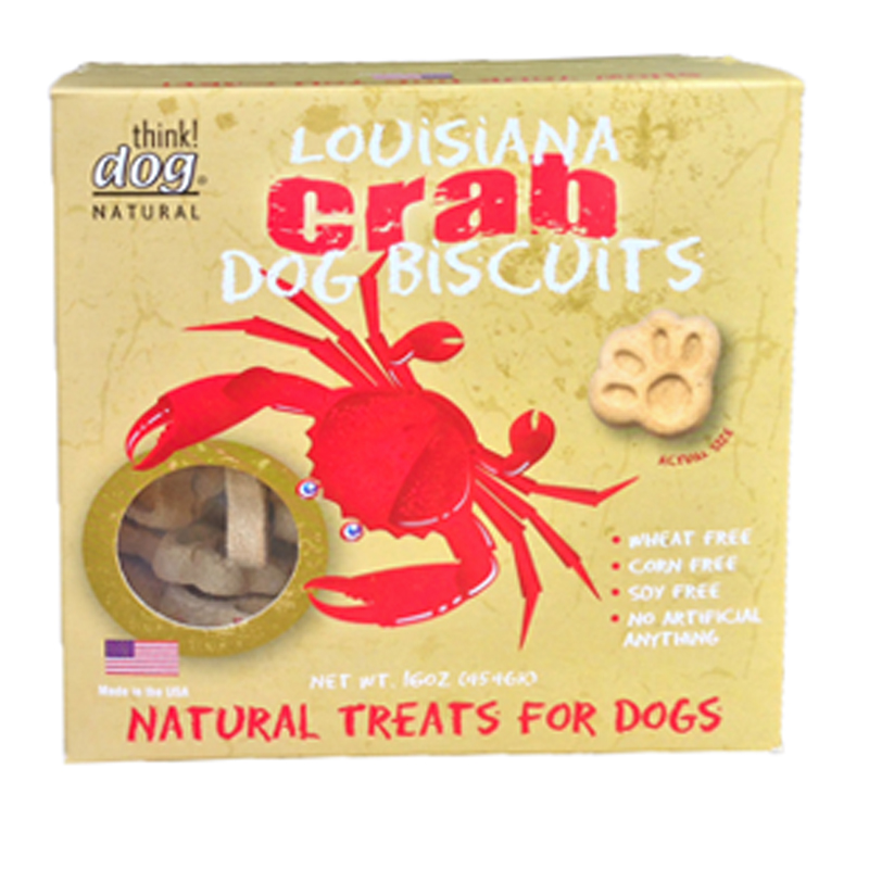 Louisiana Crab Biscuit Dog Treat