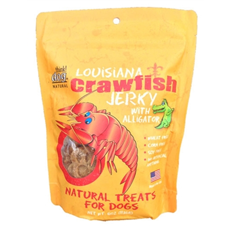 Louisiana Crawfish Jerky Dog Treat with Alligator