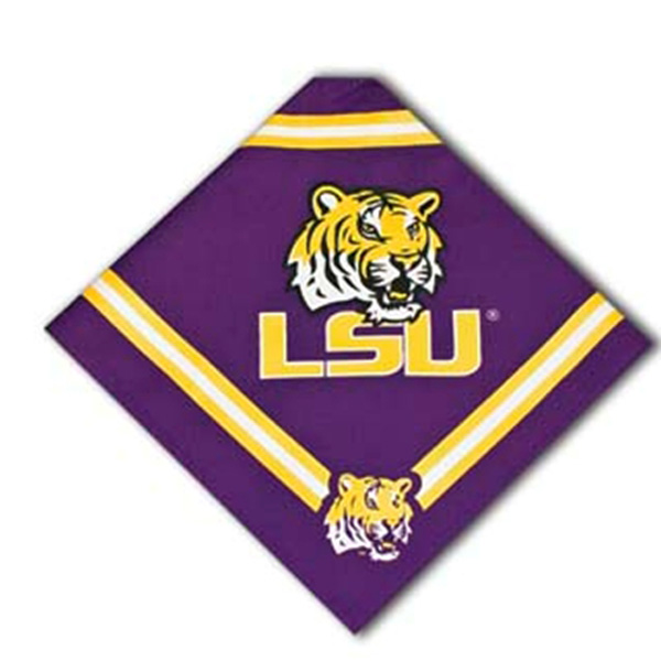 Louisiana State University Dog Bandana
