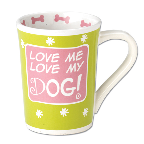 Love Me, Love My Dog Mug