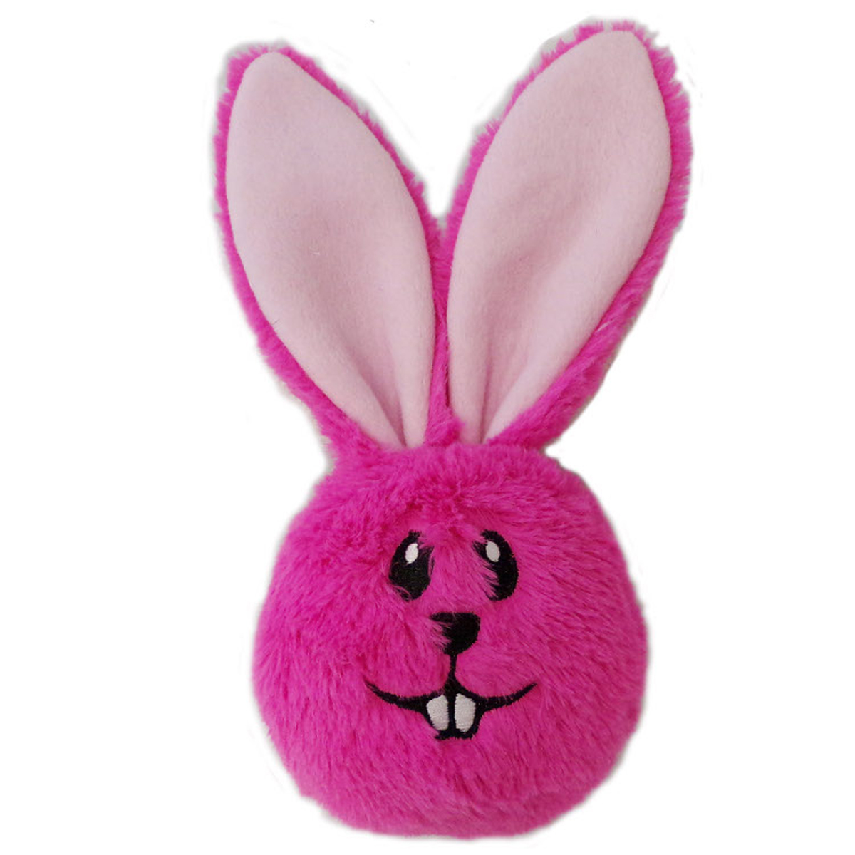 Pink Dog Toy : Lulubelles power plush dust bunny dog toy pink baxterboo