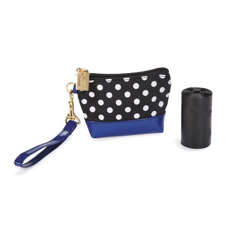 M. Isaac Mizrahi Floral Dot Waste Bag Holder