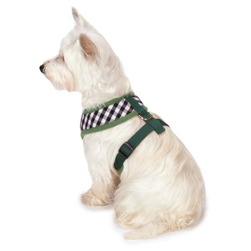 M. Isaac Mizrahi Gingham Collection Dog Harness