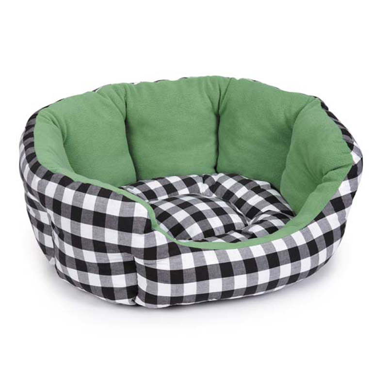 M. Isaac Mizrahi Gingham Collection Nesting Dog Bed