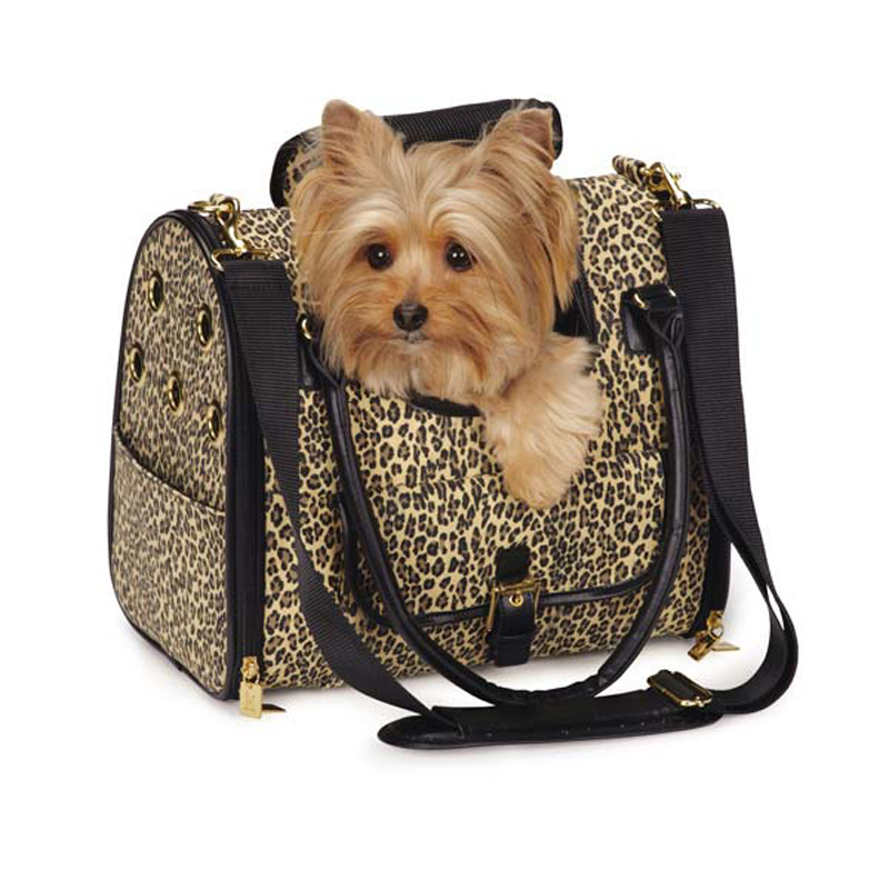 M. Isaac Mizrahi Leopard Dog Carrier