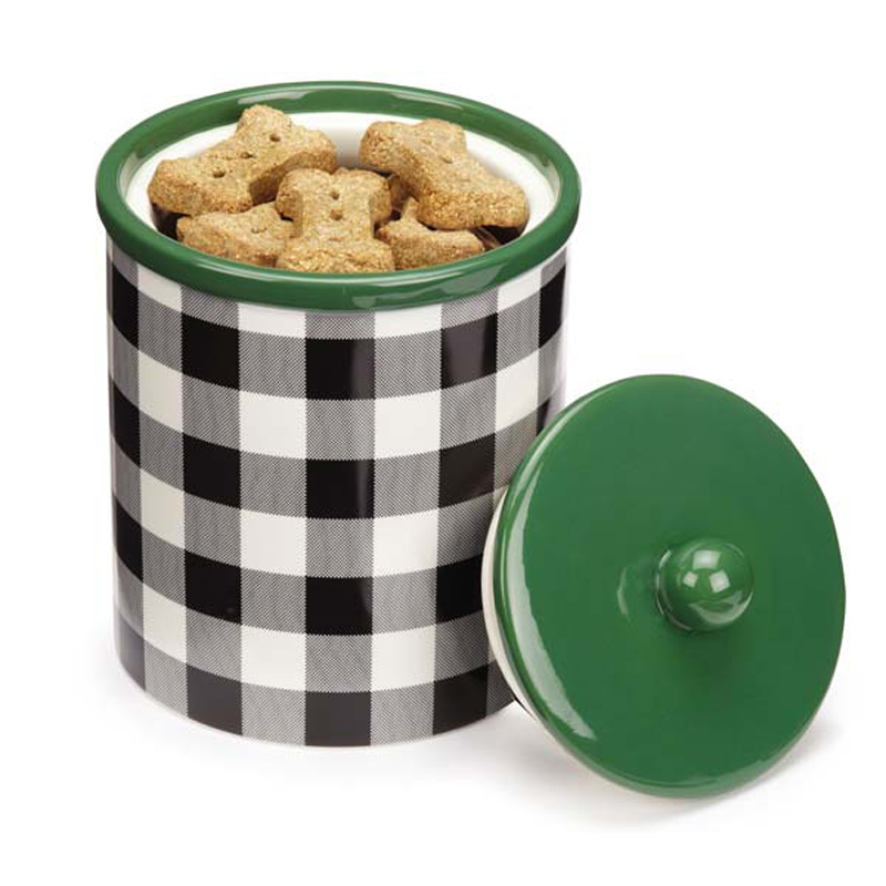 M. Isaac Mizrahi Treat Canister - Gingham