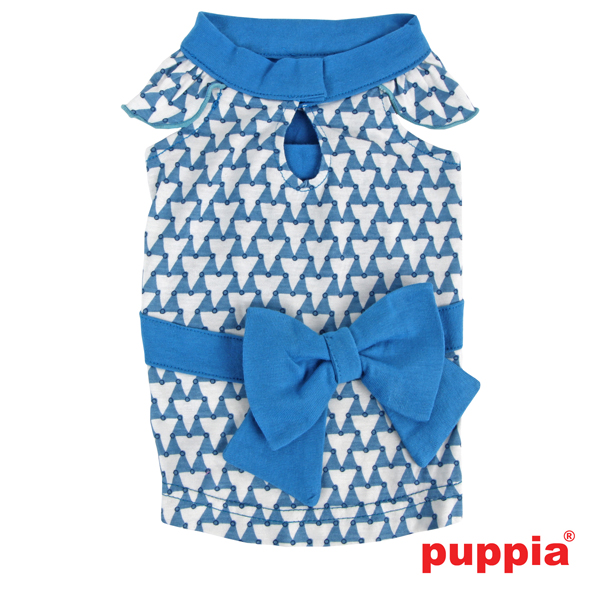 Martina Dog Dress by Puppia - Blue