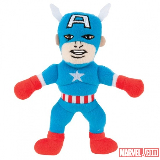 Marvel Plush Dog Toy - Captain America