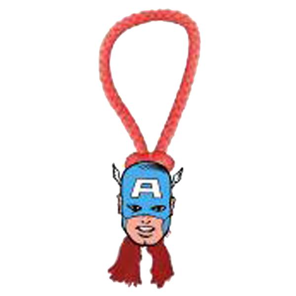 Marvel Rope Tug Dog Toy - Captain America