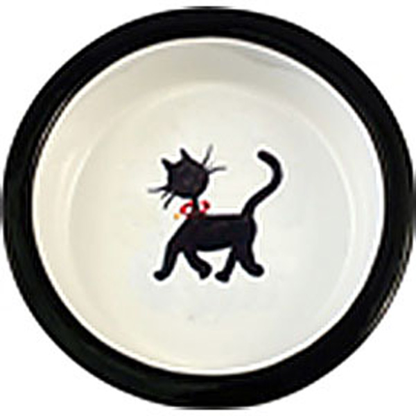 Melia Cat Walking Ceramic Pet Bowl