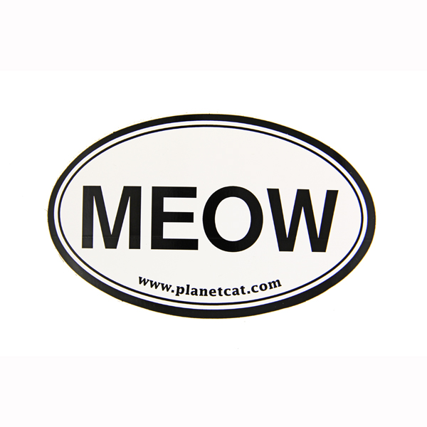 Meow Euro Sticker by Planet Dog