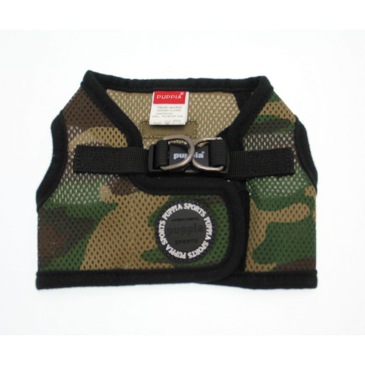 Mesh Soft Harness Vest by Puppia - Camo