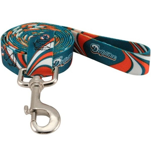 Miami Dolphins Dog Leash - Dolphins