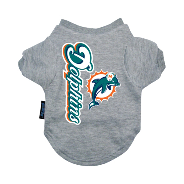 Miami Dolphins Dog T-Shirt - Dolphins