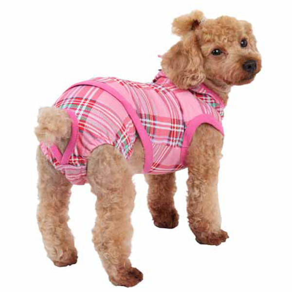 Midtown Dog Sanitary Panty by Puppia - Pink