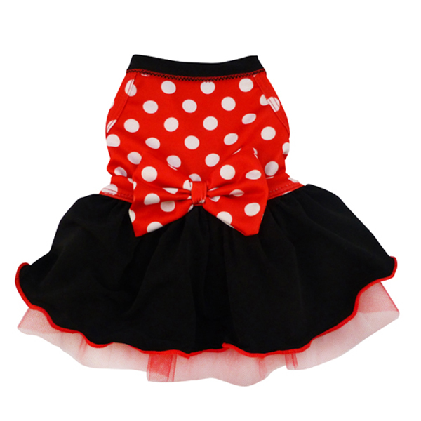 Minnie Dots Dog Dress