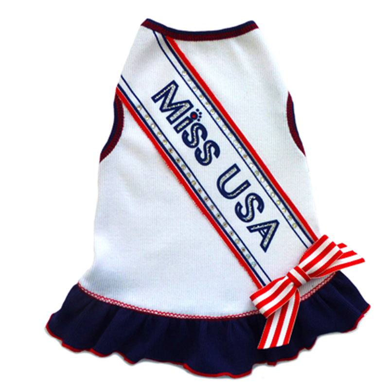 Miss USA Dog Dress