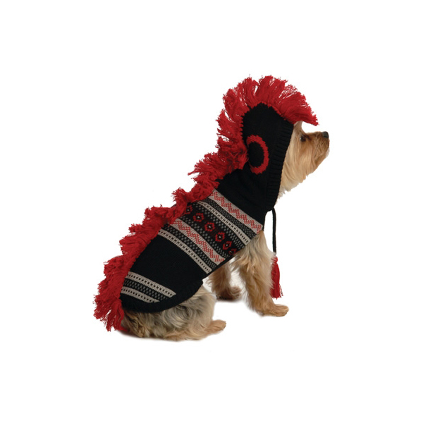Dog Mohawk Sweater Mohawk Hooded Sweater by ny
