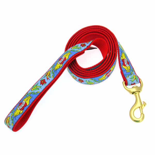 Mom Tattoo Dog Leash by Up Country