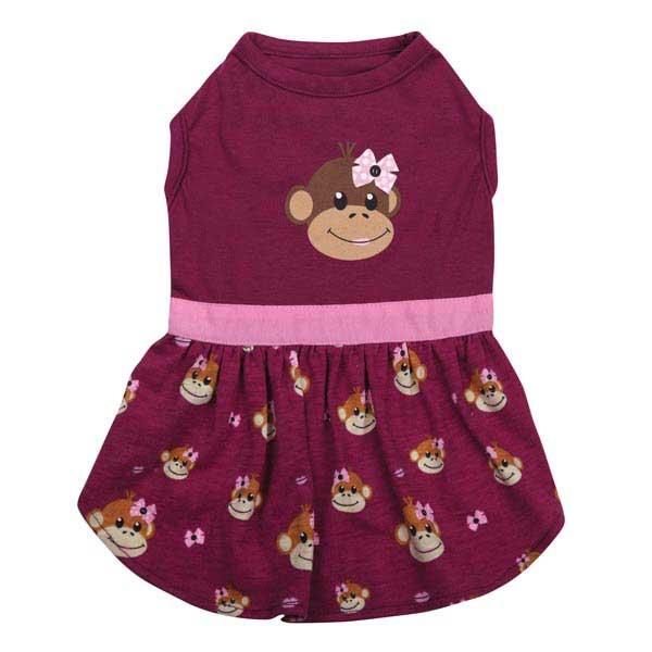 Monkey Business Dog Dress - Tiff