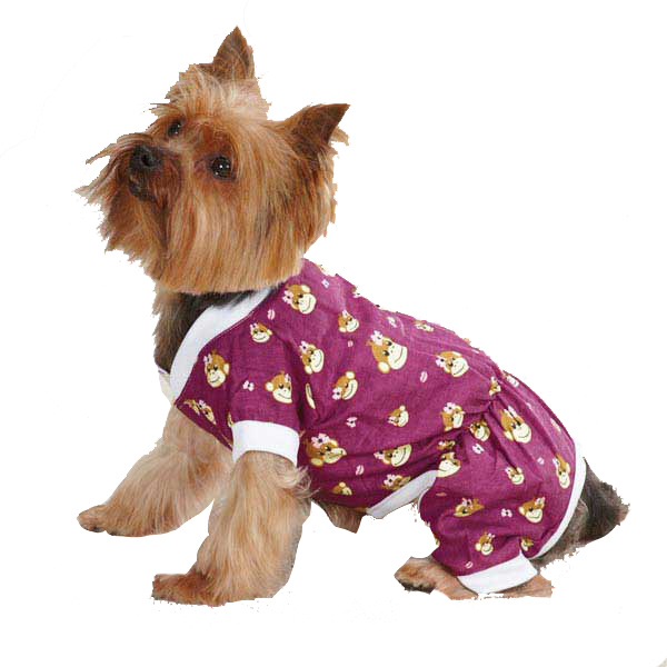 Monkey Business Dog Pajamas - Tiff