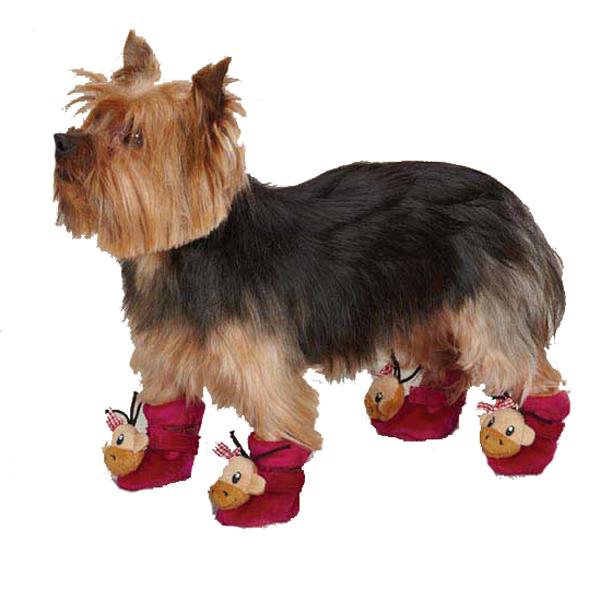 Monkey Business Dog Slippers - Tiff