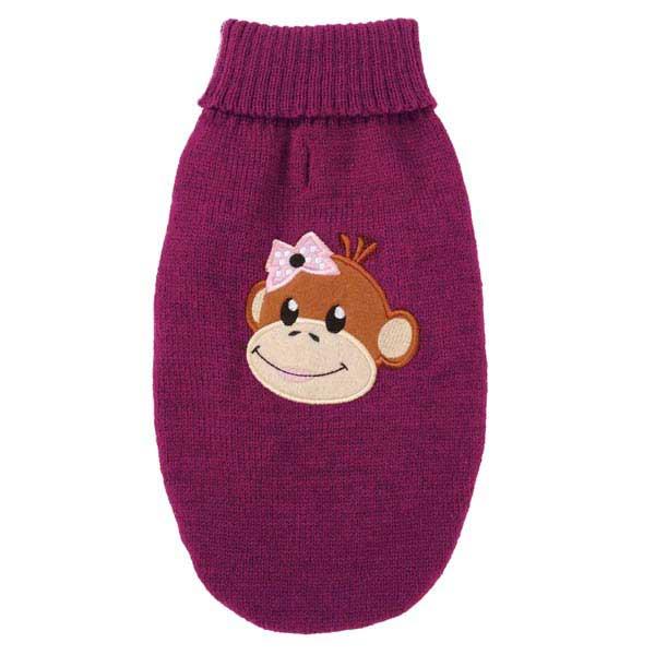 Monkey Business Dog Sweater - Tiff