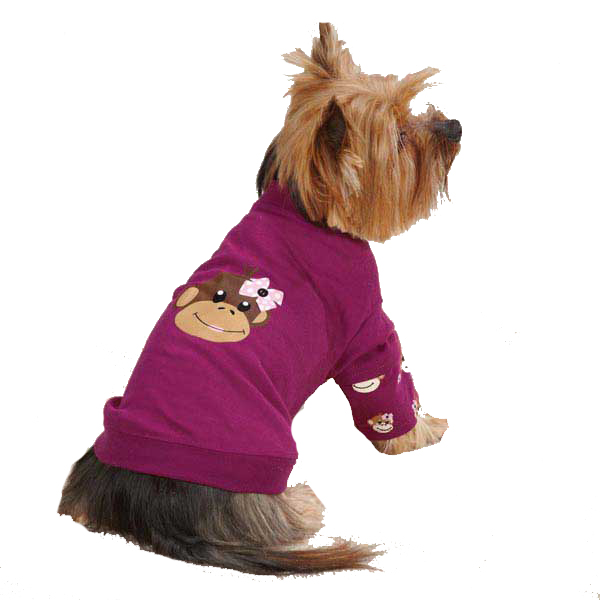 Monkey Business Mock Dog T-Shirt - Tiff