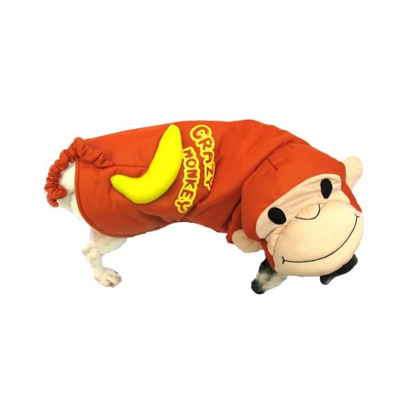 Crazy Monkey Halloween Dog Costume