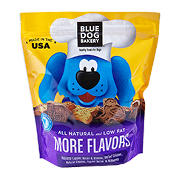 More Flavors Dog Treat from Blue Dog Bakery