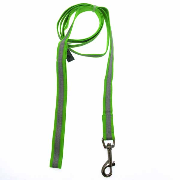 Precision Dog Leash - Lime Green