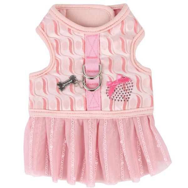 Naava Flirt Harness Dress by Pinkaholic - Pink