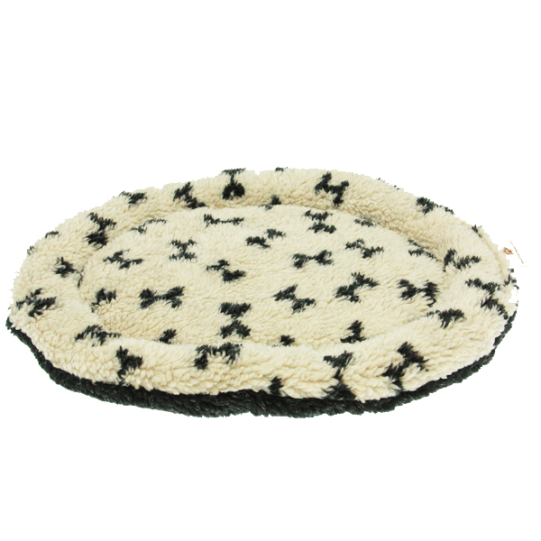 Nature Nap Oval Pet Bed - Oatmeal Bone
