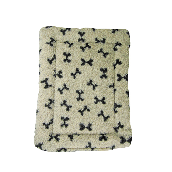Nature Nap Pet Bed - Oatmeal Bone Print