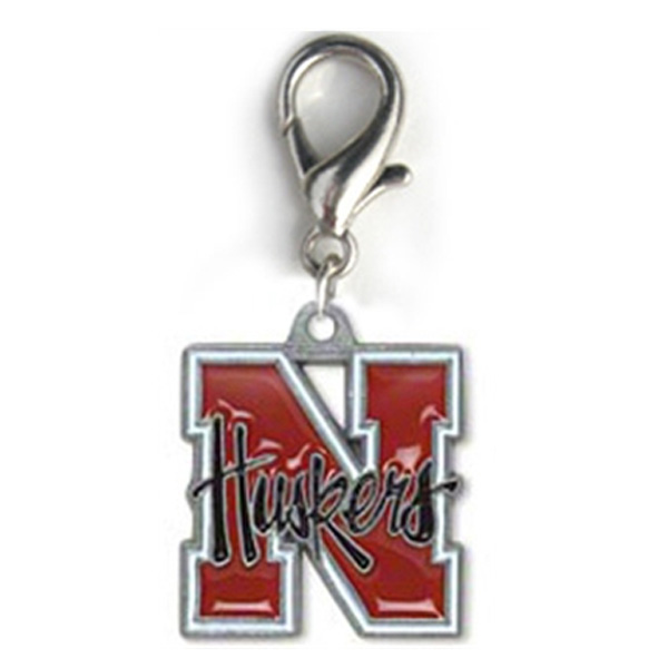 Nebraska Cornhuskers Dog Collar Charm